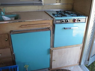 1964 Santa Fe Kitchen