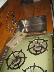 1968 Forester Stove