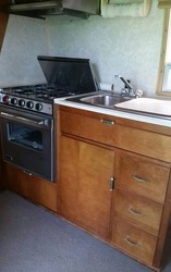 1968 Avion Kitchen