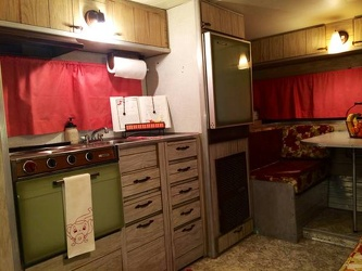 1968 Aristocrat Lo-Liner Kitchen