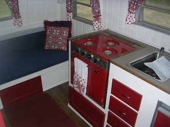 1965 Winnebago Kitchen