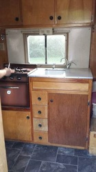 1959 Winnebago Kitchen