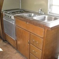 1966 Avion M25. Kitchen
