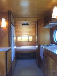 1953 Airfloat Navigator Kitchen to Rear